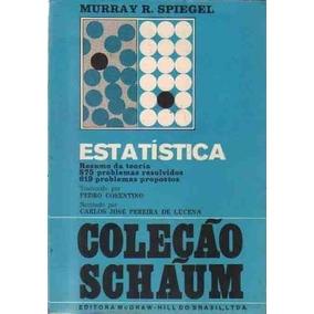 Livro Estatística Murray R. Spiegel