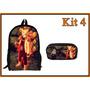 Kit Escolar Naruto -exclusivo- Mochila + Estojo
