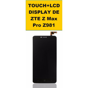 Touch+lcd Display Completo De Zte Z Max Pro Z981