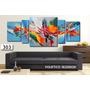 Cuadro Abstracto Moderno 180x80cm Decorativo Mural Living