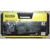 Juego Dados Herramientas Mecanicas Stanley 27 Piezas 86-505