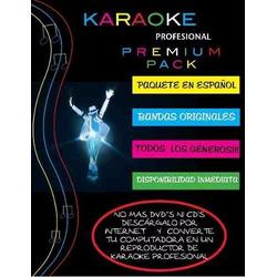 Disfruta Tu Karaoke En Español Premium Pack - 8000 Canciones