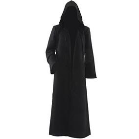 Traje Para Hombre De Allten Túnica Negra De Halloween Manto