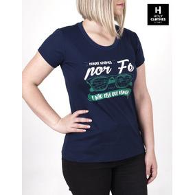Camiseta Cristã Porque Vivemos Por Fé E Não Pelo Que Vemos