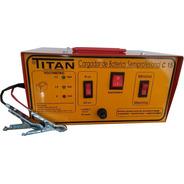 Cargador De Baterias Titan C-15 Semiprofesional 6 Y 12 Volts Garantia 1 Año + Service
