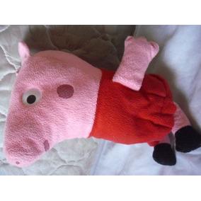Peppa Pig Grande 42 Cm Boneca Pelúcia Super Macia / Mbq
