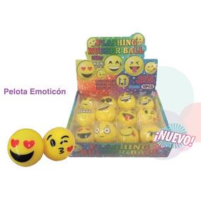 Led Pelota Emoticon 24 Uni.precio Mayorista Cotillon