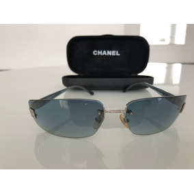 6538ebda0b091 Oculos Retangular Chanel - Óculos De Sol no Mercado Livre Brasil