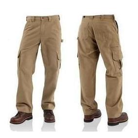 Pantalon Tipo Cargo T 34 Y 36, Color Kaki. Envio Gratis!!!