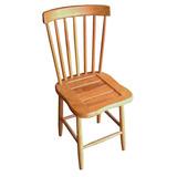 Cadeira Madeira Clássica Estilo Country G Jequitiba Maciça