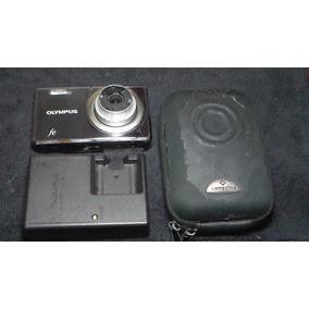 Camara Olympus Para Repuesto + Forro + Cargador (funcional)