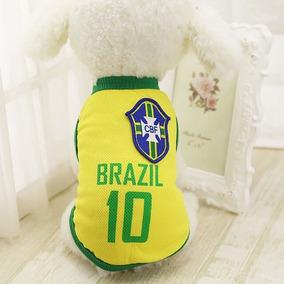 Camisa Seleção Brasileira Roupa Pet Cachorro Gato - Leiatudo