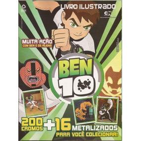 Kit Álbum + 60 Pacotinhos Ben 10 2013