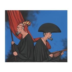 Serigrafia Rafael Coronel Punto Muerto 100 X 120 Cms