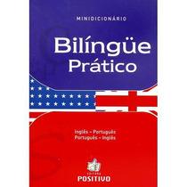 Minidicionário Bilíngue Prático - Português/inglês- Positivo