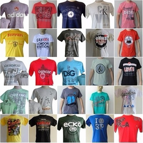Kit C/30 Camisetas Camisas Masc Atacado Oferta Frete Gratis