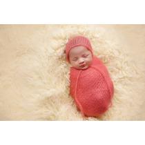 Wrap Newborn Com Elasticidade - Bebes Props Foto Não É Gaze