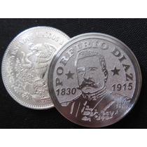 Moneda Porfirio Diaz 1830 1915 Hermosa De Regalo Capsula