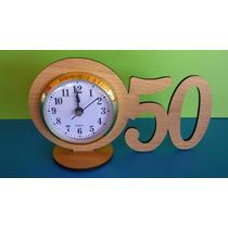 30 Souvenirs Reloj Con Numero Pers Cumples Aniversarios Boda