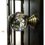 Jaladera De Cristal/puertas/base Cobre/ 30x41mm/set 5 Pzs