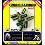 Capacitores Condensadores 3300uf, 6.3v, 105ºc, Kit 5 Piezas
