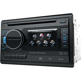Power Acoustik Pd 342 3.4 Double-din In-dash Lcd Touchscree