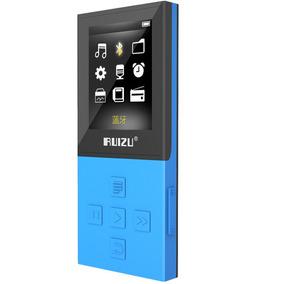 Mp3 Player Ruizu X18 8gb Pen Drive Fone Bluetooth 100 Horas