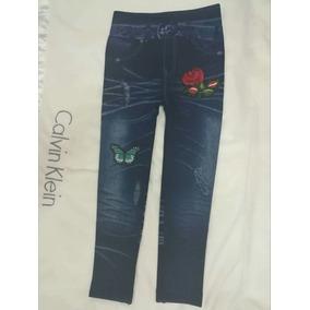 Leggins Tipo Jeans Strech De Niña. ----,milera