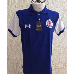 Playera Tipo Polo Cruz Azul Futbol Talla Xl