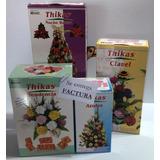 20 Pares Moldes Para Flores Con Goma Eva - 4 Kits Thikas