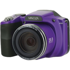 Minolta(r) - 20mp Wifi Cam 35x Pur