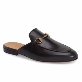 Sapato Sapatilha Mule Gucci Masculino / Feminino Couro