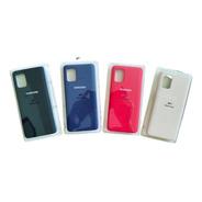 Silicone Case Tipo Original Para  Samsung A51/ A71 /a21s