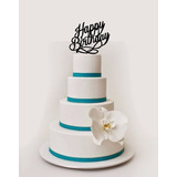 Toppers Para Torta - Cake Toppers Cumpleaños Fiesta