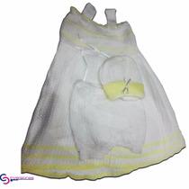 Vestidos Tejidos Ropa Tejida Bebe Ropa De Bebe