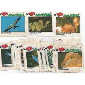 Brasil 1991 Figurinhas Do Álbum Ping Pong Amazônia