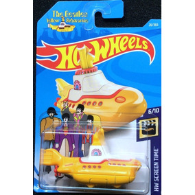 Hotwheels The Beatles Yellow Submarine 2018
