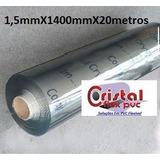 Bobina Pvc Super Transparente 1,5mm Esp X1400mm Largx20metro