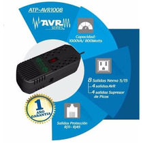Regulador De Voltaje Atp 1000va 8 Salidas Zettabyte Tienda