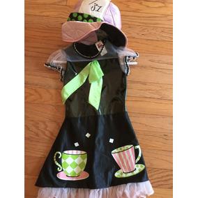Disfraz Halloween Con Sombrero Niña Talla 6 Muy Buen Estado