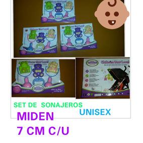 Set De (3) Sonajeros Para Bebes Unisex