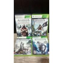 Jogos Assassins Creed Originais Xbox 360 Barato