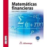 Matemáticas Financieras López Dumrauf Ed Alfaomega