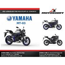 Yamaha Mt 03 0km 2017 Entrega Inmediata Motoswift