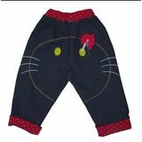 Oferta!!! Jeans Para Bebas De Kitty