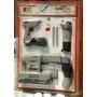 Kit Lijadora Orbital Linterna Pistola Encoladora Power Tools