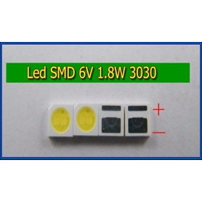 Led Smd Tv Sti, Toshiba E Philco - 6v 1.8w 3030