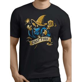 Remera Final Fantasy Mago Negro Black Mage Rpg Ff