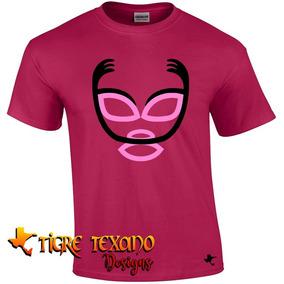Playera Lucha Libre Gallo Tapado By Tigre Texano Designs
