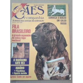 Revista Cães E Companhia N 19 Dez. 80 Fila Brasileiro Borzoi